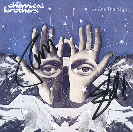 Chemical Brothers Autographed CD