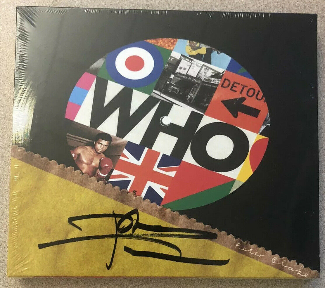 Pete Townsend Autographed CD Signed